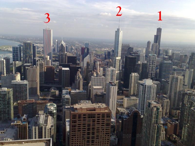 John hancock center et magnificent mile chicago - Ultra tour vitre ...